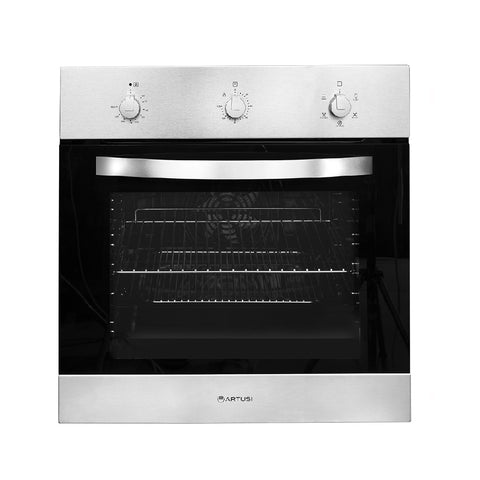 Artusi Oven 60cm 56L Built in Electric W/ 5 Functions Stainless Steel CAO6X (4615428898876)
