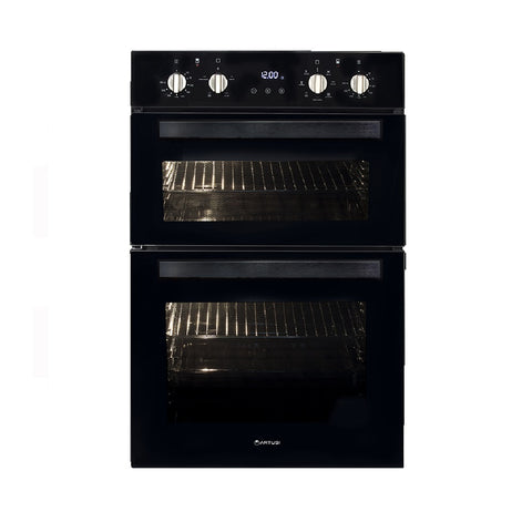 Artusi Oven 60cm Built in Double Wall Black CAO888B (4615429652540)