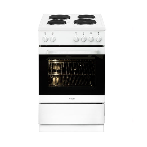 Artusi Oven 54cm All Electric Upright W/ 4 Functions White AFE544W (4615429095484)