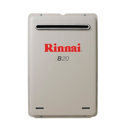 Rinnai Continuous Flow B20L Preset to 50c (LPG) Hot Water Unit B20L50 (4689842176060)