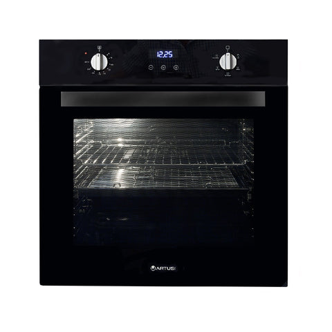 Artusi Oven 60cm Electric Built in Black AO676B (4615429029948)