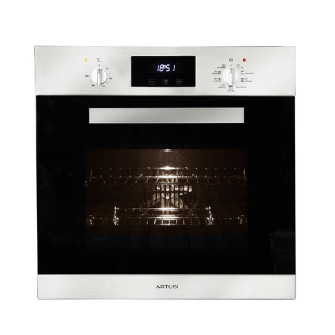 Artusi Oven 60cm 9 Function Built In W/ Touch Control Stainless Steel AO651X (4615429161020)