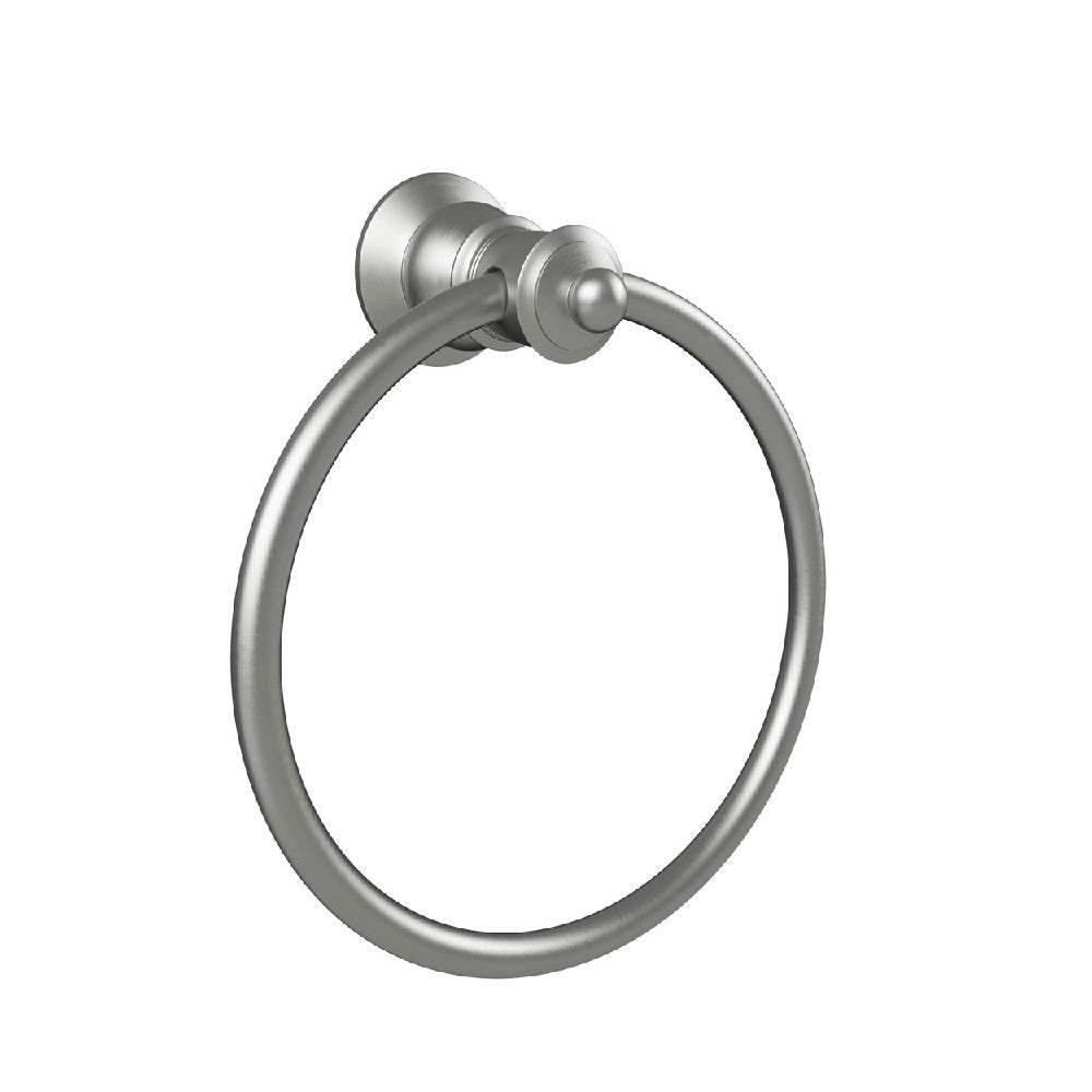 Fienza Lillian Towel Ring Brushed Nickel (4358690242620)