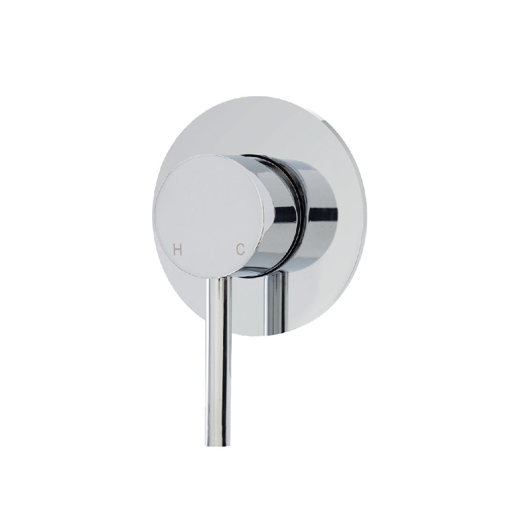 Fienza Isabella Wall Shower/ Bath Mixer Chrome (4358676316220)