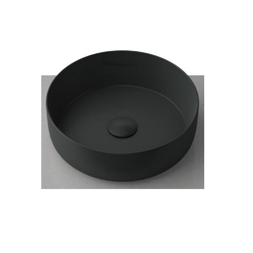 Timberline Allure Round Basin Matte Black (4358693191740)