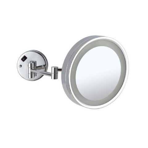 Thermogroup Ablaze Magnifying Mirror Lit Wall Mount x3 Chrome (Concealed Wiring) (4358678577212)