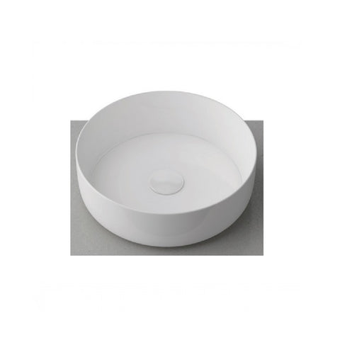 Timberline Allure Round Basin Gloss White (4358692962364)