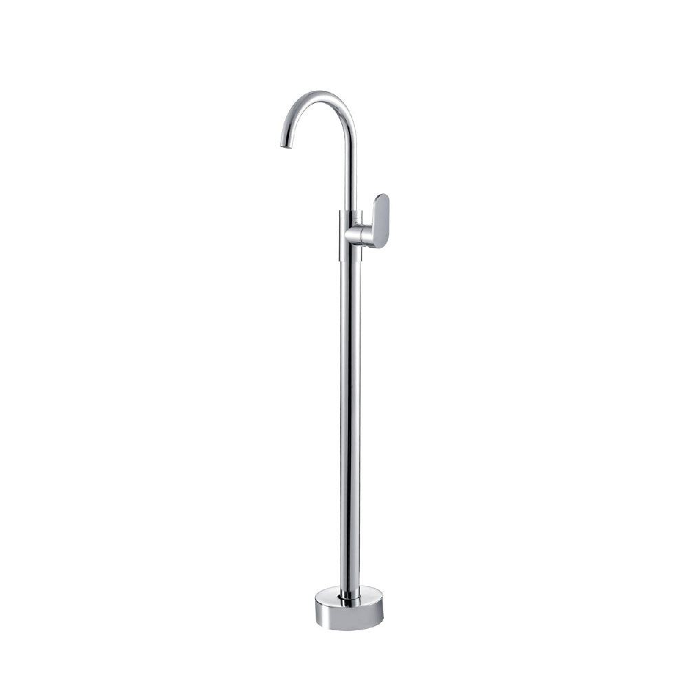 Fienza Empire Floor Standing Bath Mixer Chrome (4358675988540)