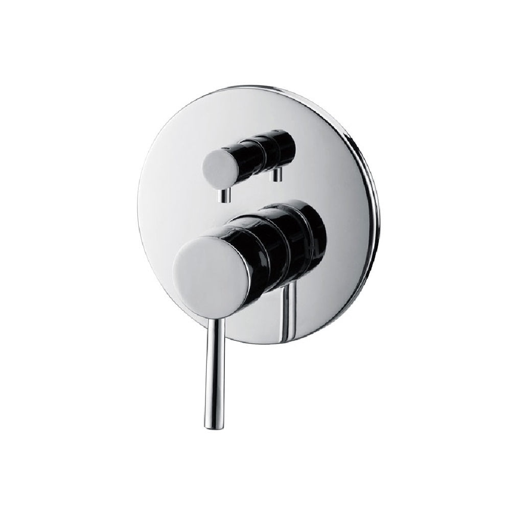Fienza Isabella Wall Shower/ Bath Mixer with Diverter Chrome (4358676414524)