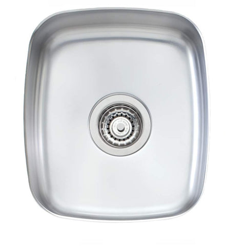 Oliveri Endeavour Sink 350 x 405 Single Bowl Stainless Steel (4358685327420)