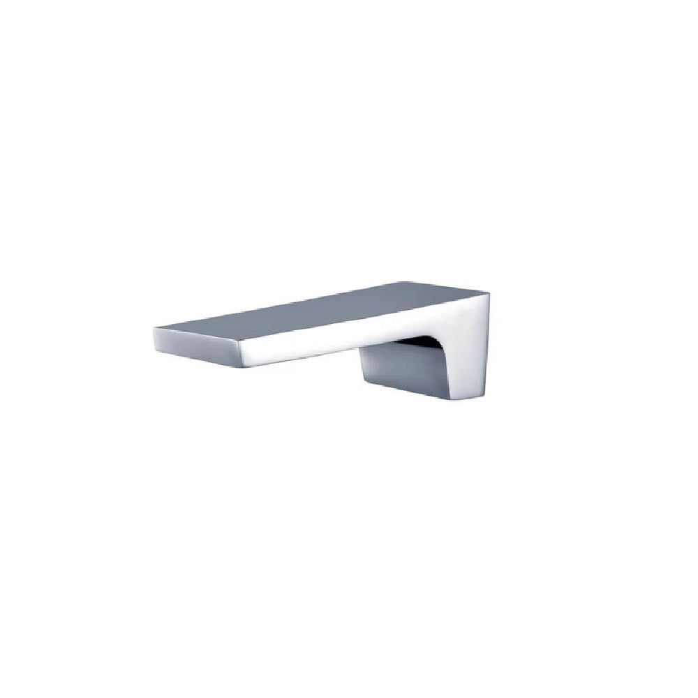 Meir Square Waterfall Wall Spout MS04-C Chrome (4466421923900)
