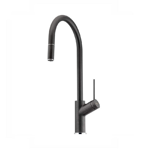 Oliveri Vilo Sink Mixer with Pull Out Santorini Black (4358685687868)