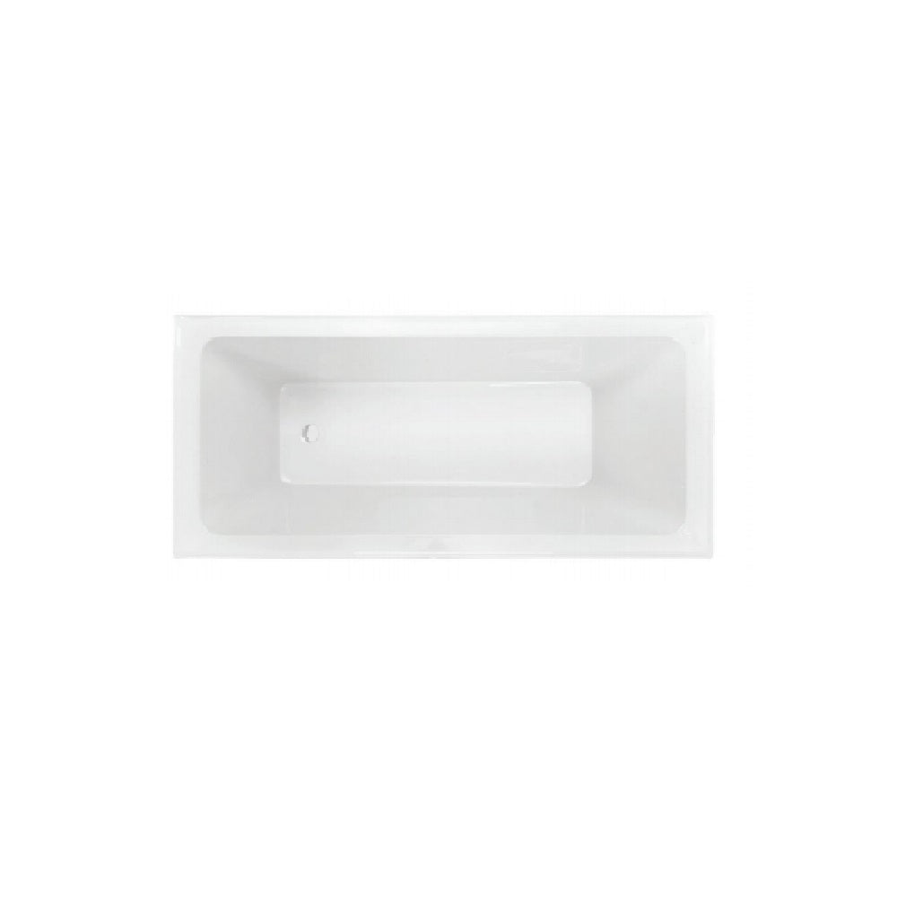 Decina Napoli 1675mm Built In Bath White AP1675W (4445922263100)