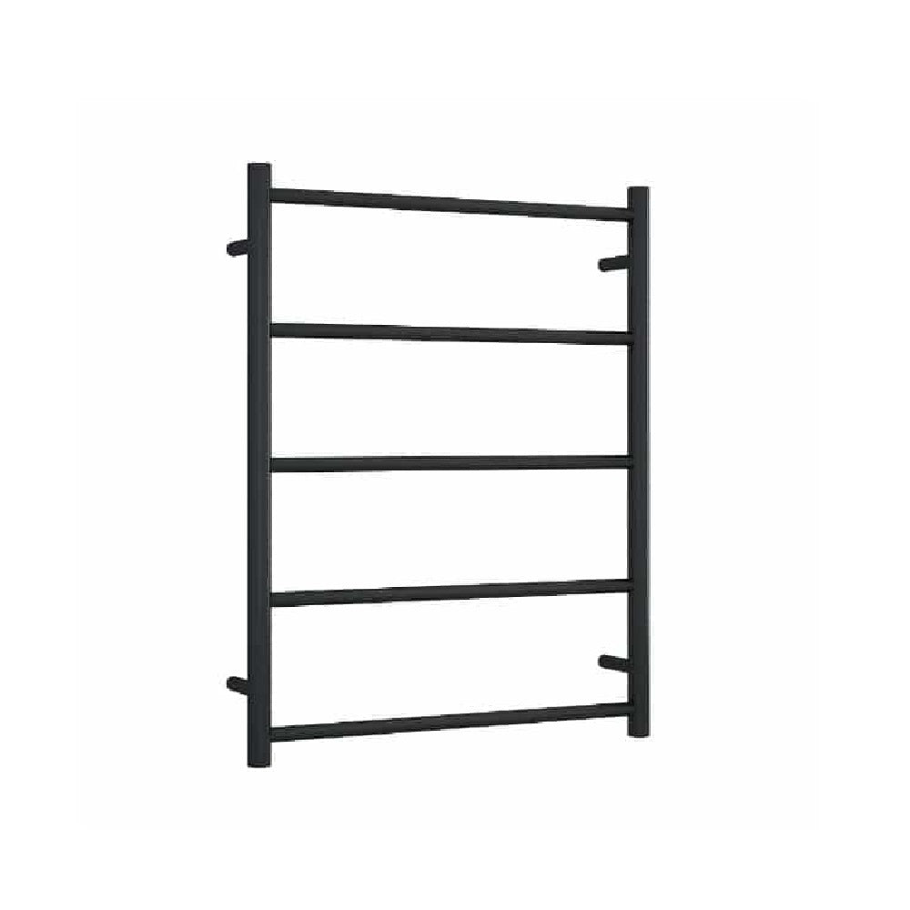Thermogroup Non Heated Towel Rail Round 630mm W x 800mm H- Matte Black (4358679789628)