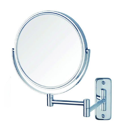 Thermogroup Ablaze Magnifying Mirror Non Lit Wall Mount 1x-10x Chrome (4358678970428)