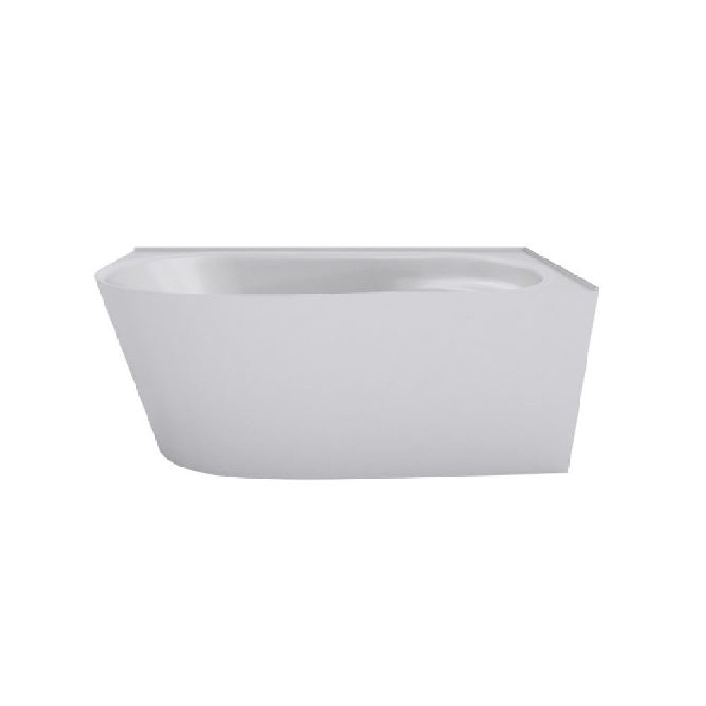 Decina Natalia 1500 Freestanding Back To Corner Bath (Right) White NA1500RW (4445923147836)