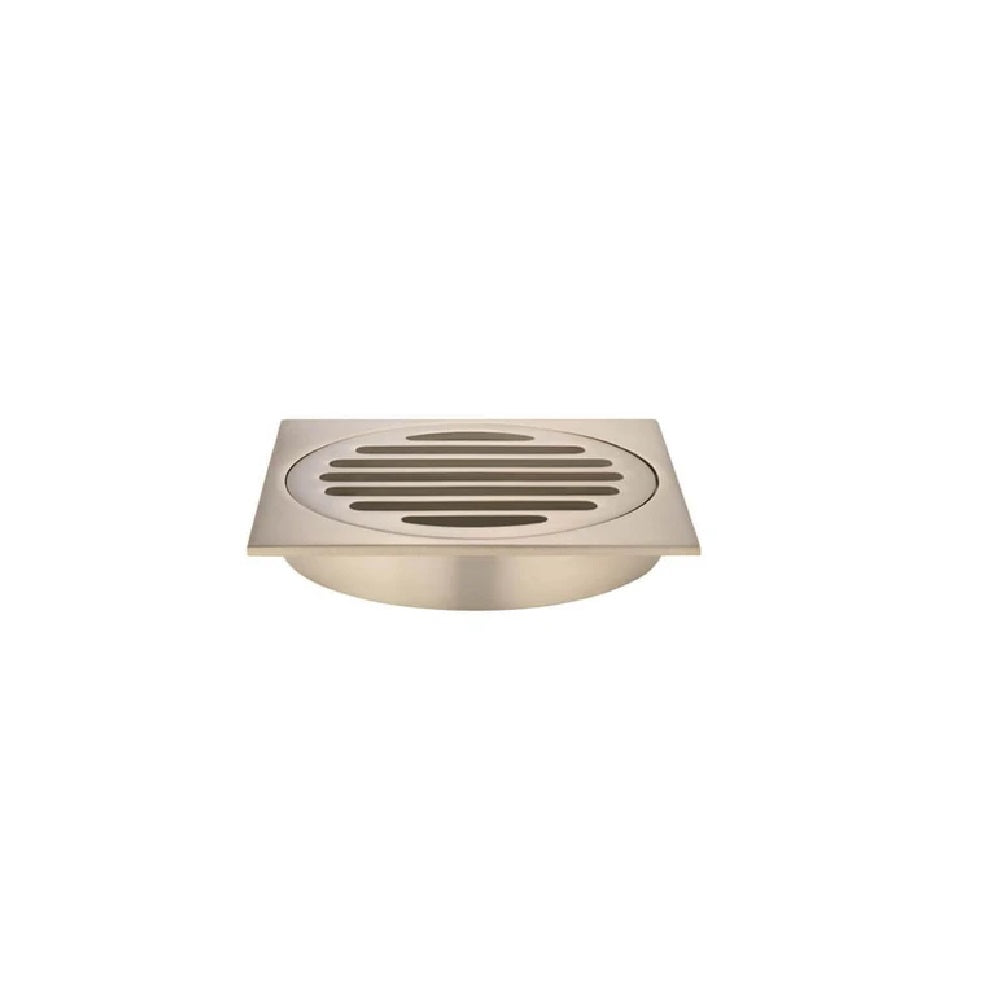 Meir Floor Grate 100mm MP06-100-CH Champagne (4466423693372)
