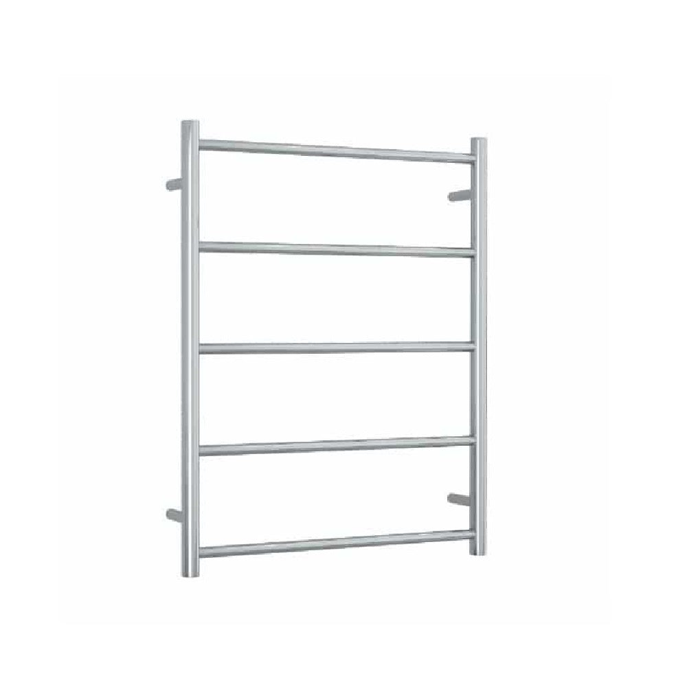Thermogroup Non Heated Towel Rail Round 630mm W x 800mm H - Chrome (4358679724092)