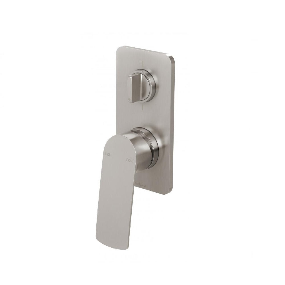 Phoenix Mekko Shower Diverter Mixer Brushed Nickel (4469841428540)