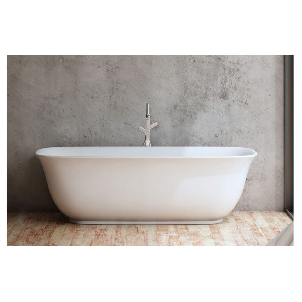 Decina Lola 1700mm Freestanding Bath White LO1700W (4445922459708)