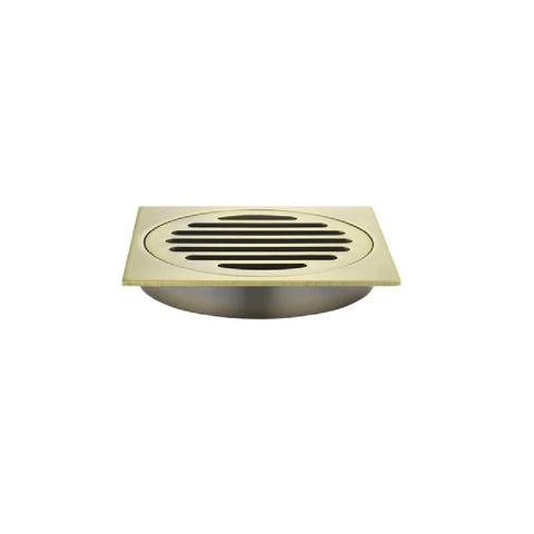 Meir Floor Grate 100mm MP06-100-BB Tiger Bronze (4466420547644)