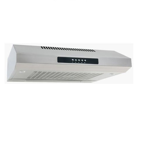 Euro Rangehood 600mm Fixed Stainless Steel EAF600SS (4426596384828)