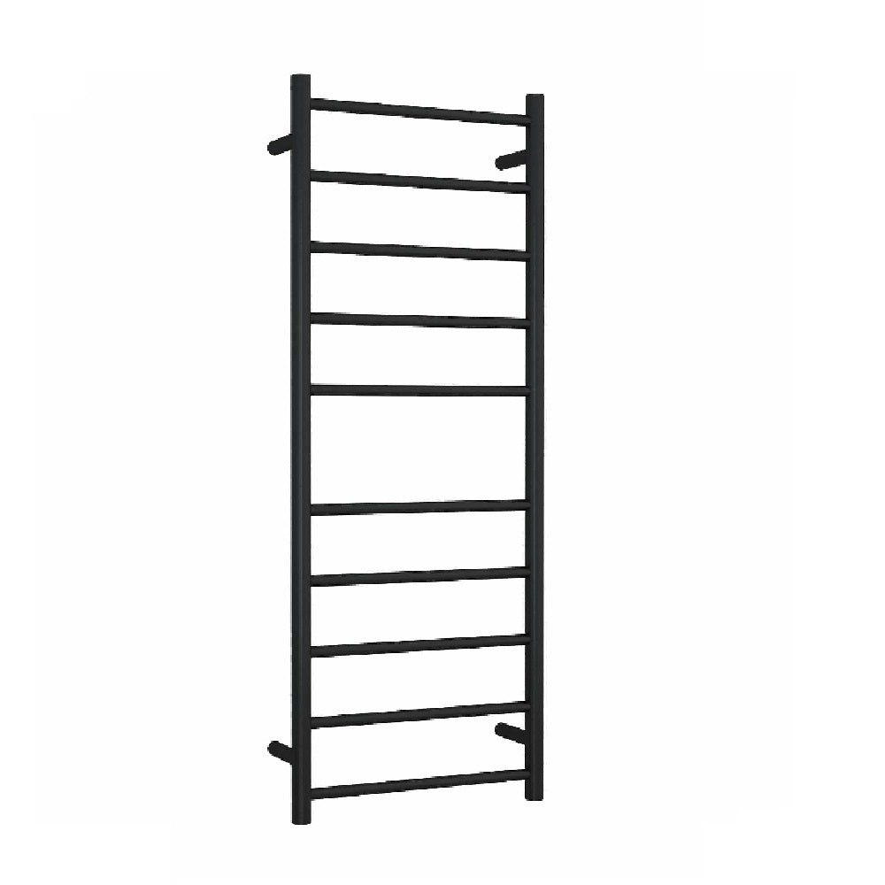 Thermogroup Heated Towel Rail Round 450mm W x 1200mm H- Matte Black (4358679986236)