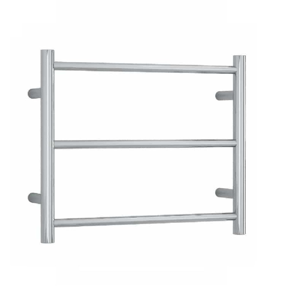 Thermogroup Heated Towel Rail Budget Round 550mm W x 450mm H - Chrome (4358680379452)
