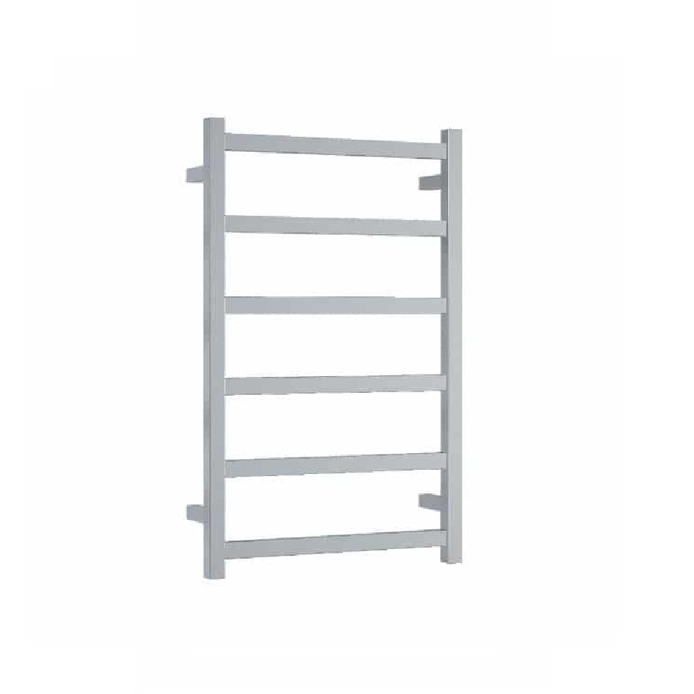 Thermogroup Heated Towel Rail Budget Square 500mm W x 800mm H - Chrome (4358680510524)