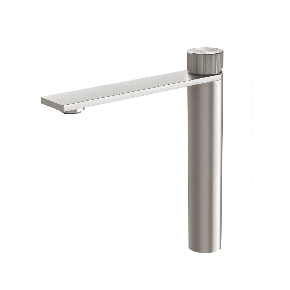 Phoenix Axia Vessel Basin Mixer Brushed Nickel (4469840281660)