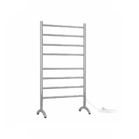 Thermogroup Heated Towel Rail Freestanding Round 600mm W x 1080mm H - Chrome (4358680674364)