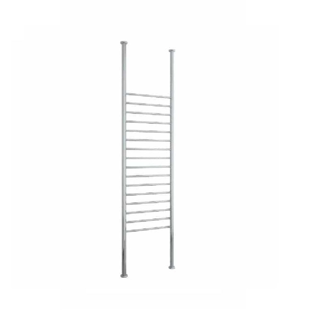 Thermogroup Heated Towel Rail Floor to Ceiling 700mm W x 3000mm H - Chrome (4358680313916)