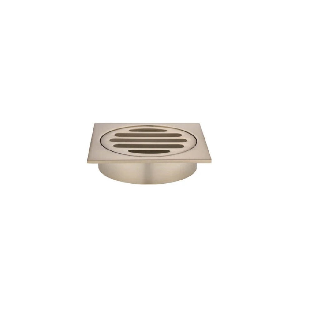 Meir Floor Grate 80mm MP06-80-CH Champagne (4466423726140)