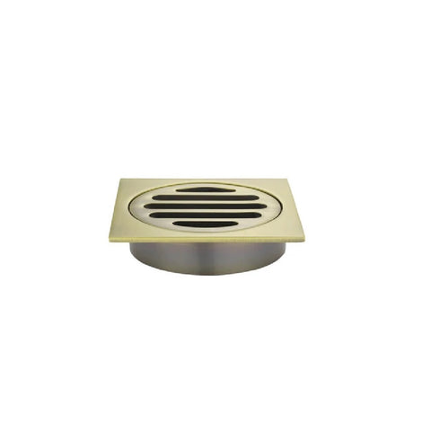 Meir Floor Grate 80mm MP06-80-BB Tiger Bronze (4466420580412)