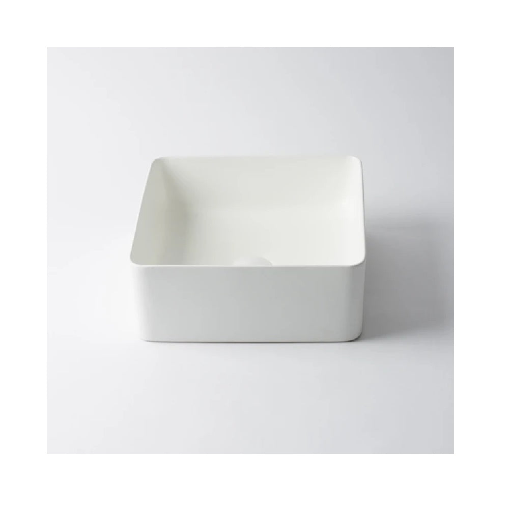 Eight Quarters Basin Amaroo Square Matte White EQXIAM1-W (4451817652284)