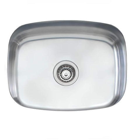 Oliveri Endeavour Sink 590 x 470 Single Bowl Stainless Steel (4358685294652)