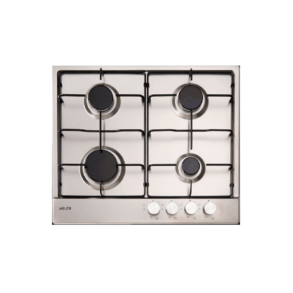 Euro Cooktop Gas 600mm Stainless Steel (4426596286524)
