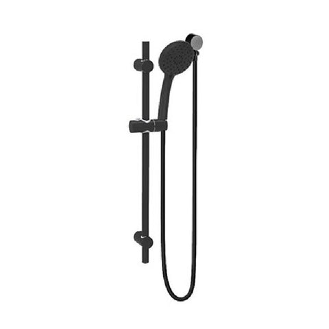 Linkware Loui Hand Shower On Rail Black T9082BK (4450041430076)