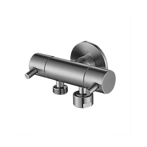 Linkware Dual Mini Cistern Cock Stainless Steel T115DSS (4450041790524)