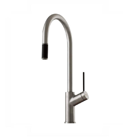 Oliveri Vilo Sink Mixer with Pull Out Brushed (4358685556796)