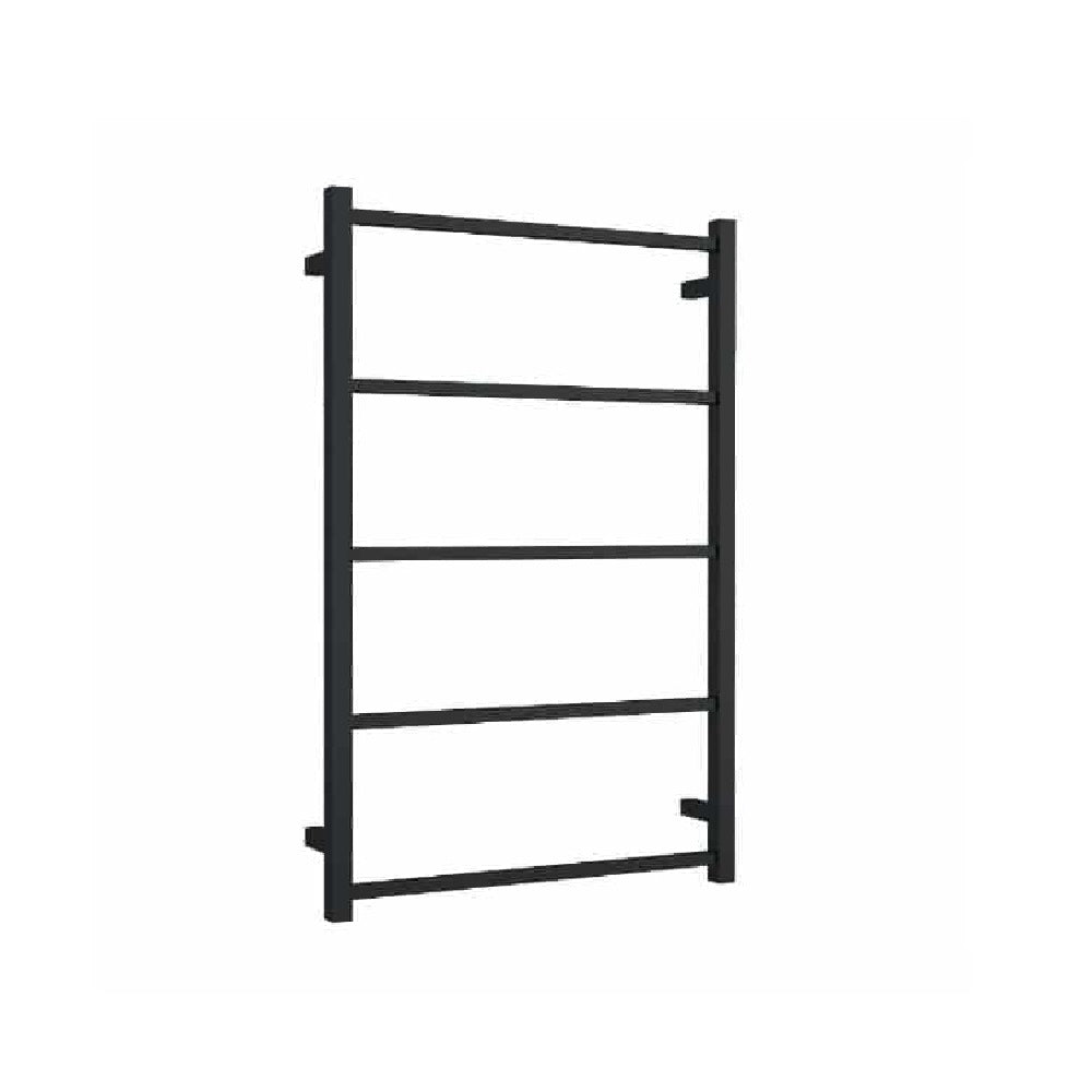 Thermogroup Non Heated Towel Rail Square 650mm W x 1000mm H- Matte Black (4358679658556)