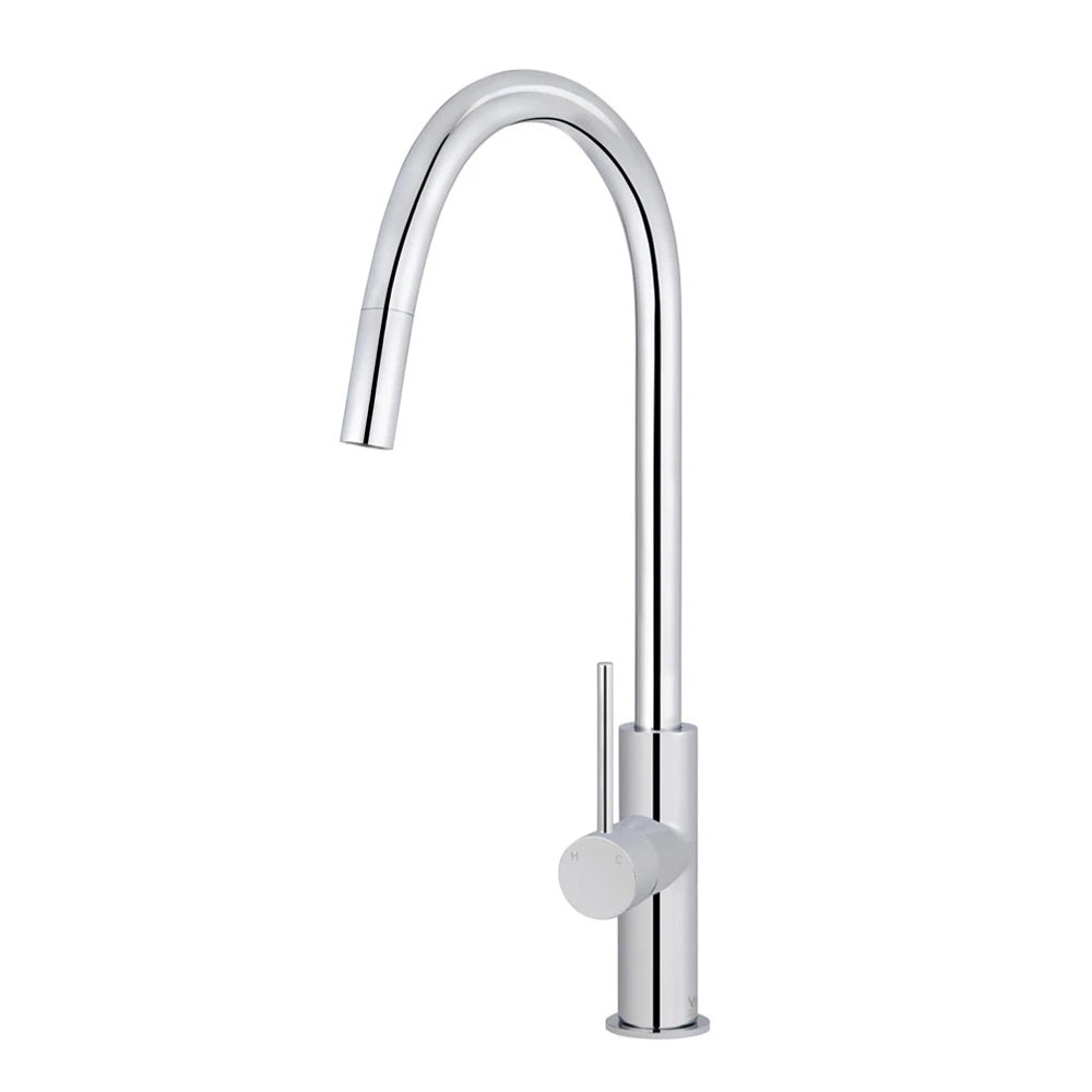 Meir Kitchen Mixer Piccola Pull Out Tap - Polished Chrome MK17-C (4476082880572)