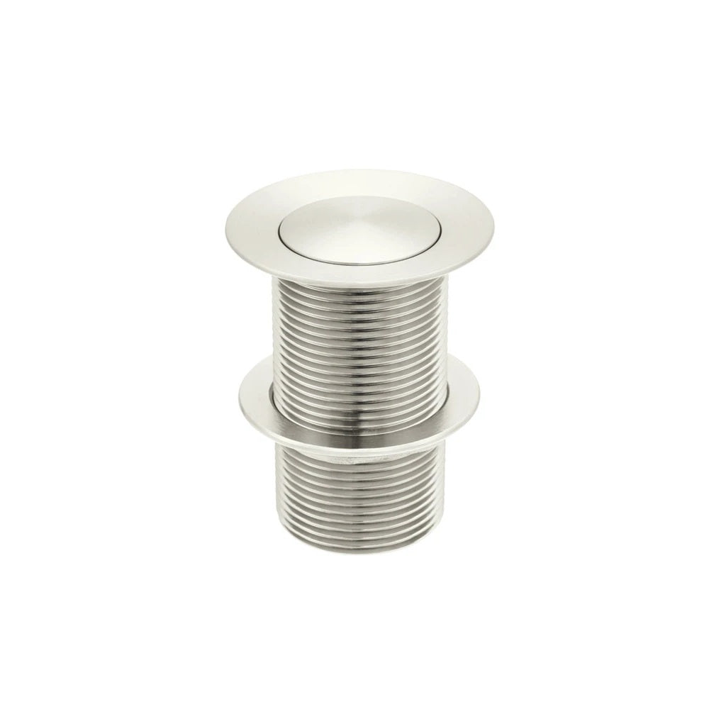 Meir Pop Up Waste 32mm Basin - No Overflow / Unslotted - PVD Brushed Nickel MP04-B-PVDBN (4476083175484)