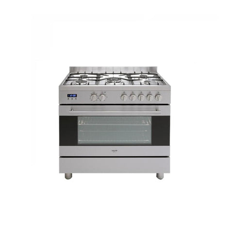 Euro Appliances Oven Freestanding 90cm Stainless Steel EV90DFSX (4554657628220)