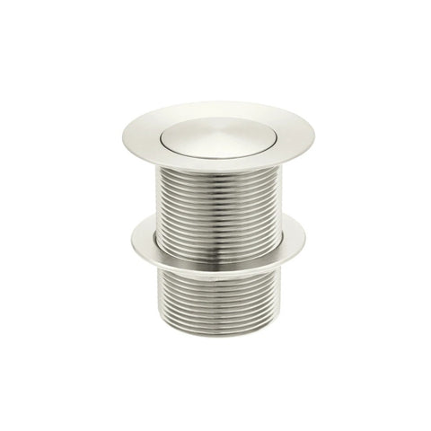 Meir Pop Up Waste 40mm Bath - No Overflow / Unslotted - PVD Brushed Nickel MP04-B40-PVDBN (4476083142716)