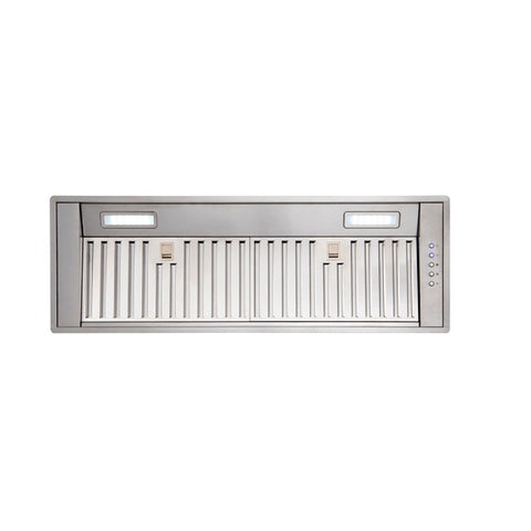 Euro Rangehood 850mm Undermount Stainless Steel with Baffle Filters ERH85UMS (4127245729852)