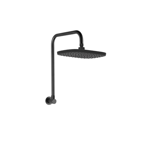 Linkware Huntingwood Gooseneck Shower Black T9783BK (4450041692220)