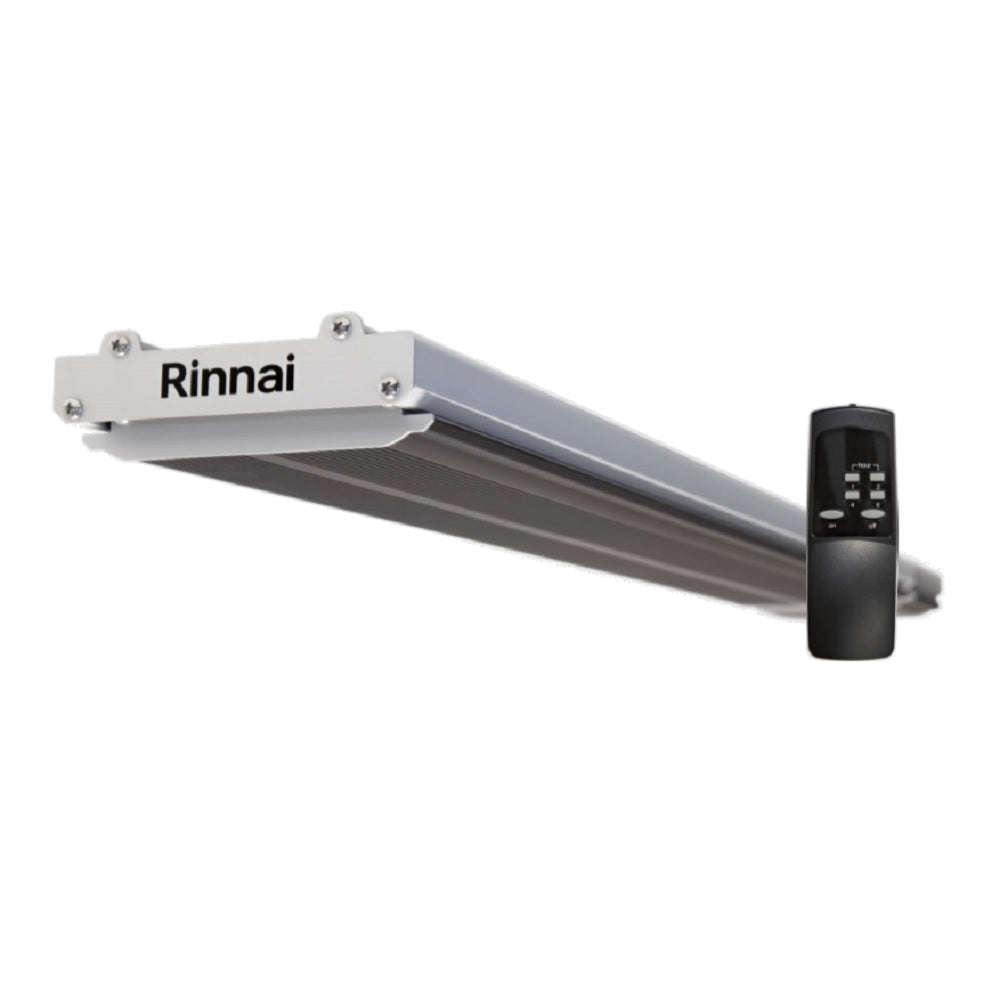 Rinnai Outdoor Radiant Electric Heater Strip Panel Large 2400w (4471271817276)
