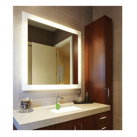 Thermogroup Ablaze Mirror Premium Back-Lit S Range Mirror 900mm x 750mm (4315909685308)