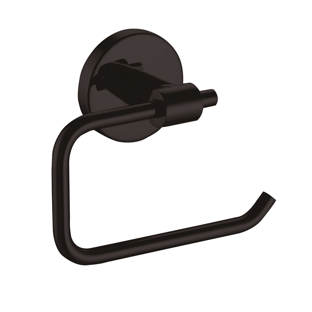Ucore Toilet Roll Holder Round Matte Black UBA22BL0012 (4509883727932)
